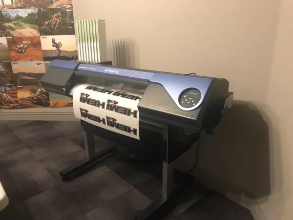 Photo Roland Printer vs-300 print  cut large format vs 300 - $5500 (Las Vegas)