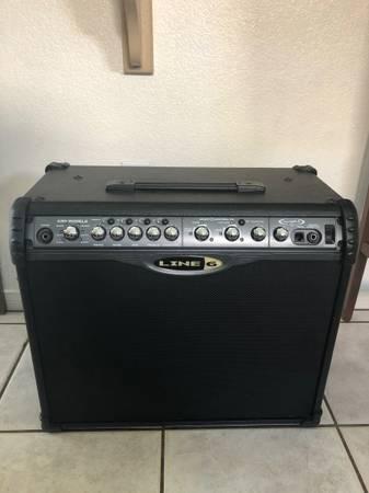 Photo Spider II line 6 75 watt guitar lifier - $175 (Sw)