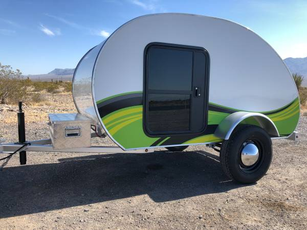 Photo Teardrop trailer cer - $6,900 (Las Vegas)