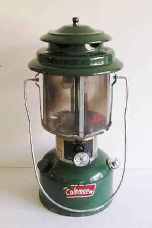 Photo Vintage COLEMAN MODEL 220K Double Mantle Lantern - $40 (Tropicana  Buffalo)