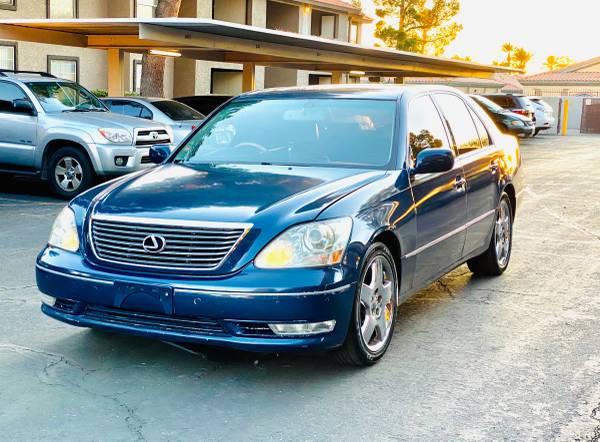 B Please read 01 02 03 04 05 06 Lexus Ls430 L Power Mirror Blue