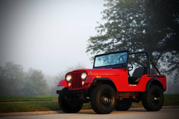 Photo 1975 Jeep CJ5 - $5200 (Lawrence)