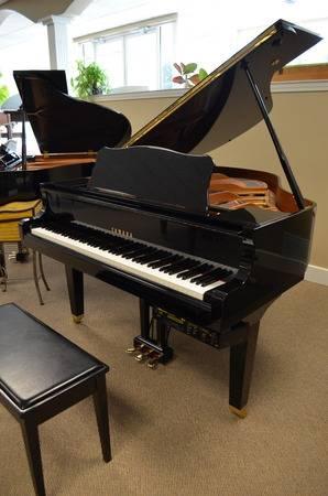 Photo 1997 Yamaha Disklavier baby grand piano - $11888