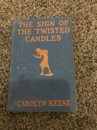 Photo Book The Sign of The Twisted Candles 1933 NANCY DREW MYSTERY - $10 (Kearney)