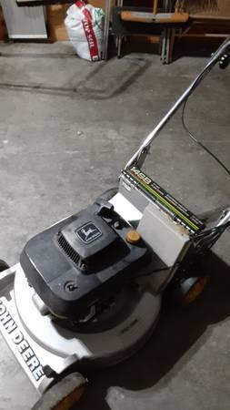 Photo John Deere self Propelled mower - $125 (Lawrence)