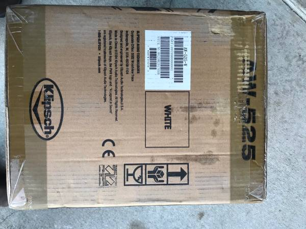 Photo Klipsch Outdoor Speakers NEW in box - $225 (Lawrence)