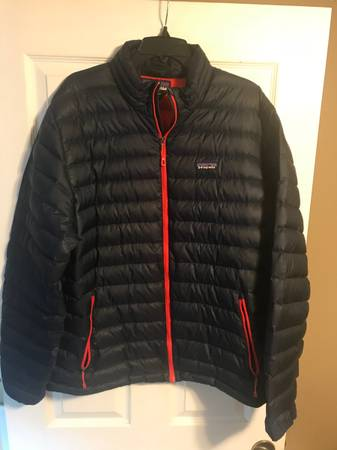 Photo Patagonia Mens Down Sweater Jacket (XL) - $50 (Lawrence)