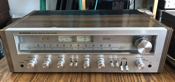 Photo Pioneer SX-650 Vintage Stereo Receiver - Serviced - $225 (Lawrence)