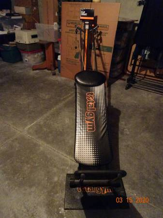 Photo TOTAL GYM BY CHUCK NORRIS. - $250 (LAWRENCE)