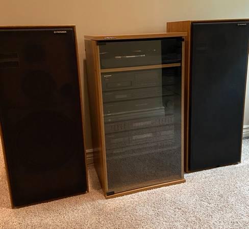 Photo Vintage Pioneer Stereo System - $600 (Lawrence KS)