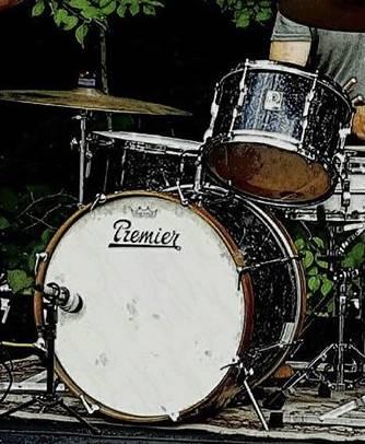 Photo Vintage Premier 60s Drums Drum Set - $350