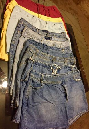Photo 10 pr Venezia Jeans shorts . Womens Size 20 Most are jeans - $25 (Wylie near E Plano)