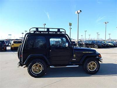 Photo 2006 JEEP WRANGLER SPORT 2 DOOR W SOME REALLY COOL ADDS LOW MILES - $13047
