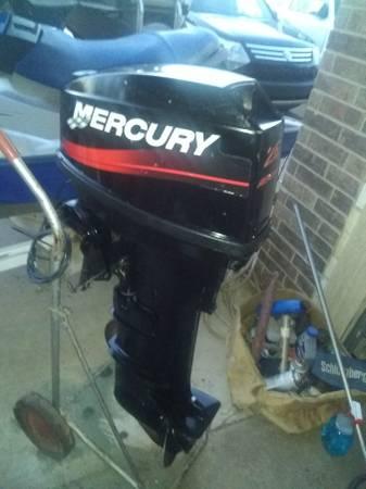 Photo 25 HP MERCURY OUTBOARD MOTOR FACTORY TAKE OFF - $2,750 (EDMOND)