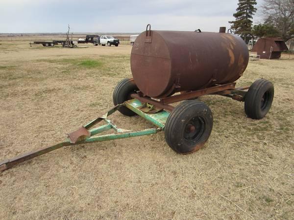 Photo 4 WHEEL TRAILER WITH 500 GALLON OIL TANK - $375 (ALTUSHEADRICK OK)