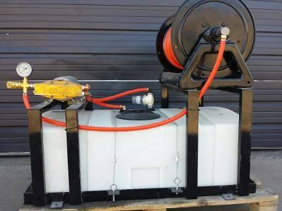 Photo 50 Gallon 12v OTT Skid Sprayer - $1,900 (Garland)