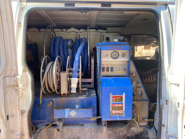 Photo Hydramaster Carpet cleaning machine - $3500 (Lawton)