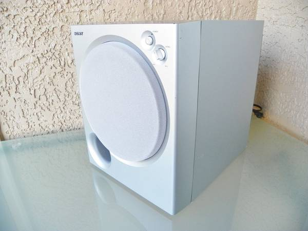 Photo Nice Sony SA-WMSP85 Powered Surround Sound System Sub 100W Active Sub - $50 (MCKINNEY)