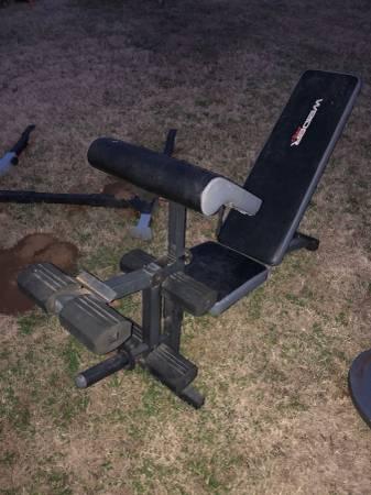 Photo Weider weight bench - $100 (DuncanComanche)