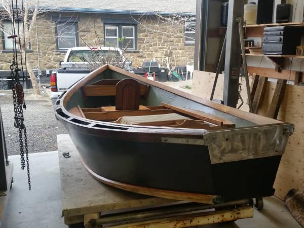 Photo 13.5 foot wood drift boat - $1,800