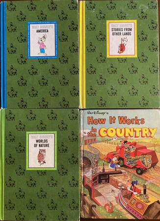Photo 1965 Wonderful World of Walt Disney books How it Works in the Country - $32 (Florence)