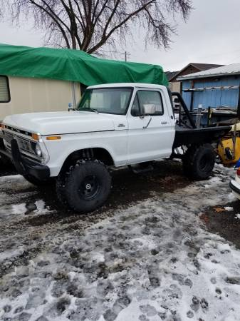 Photo 1977 Ford custom 4x4 - $8000