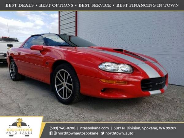 Photo 2002 Chevrolet Camaro SS 35th Anniversary - $21,980 ($500 down youre approved)