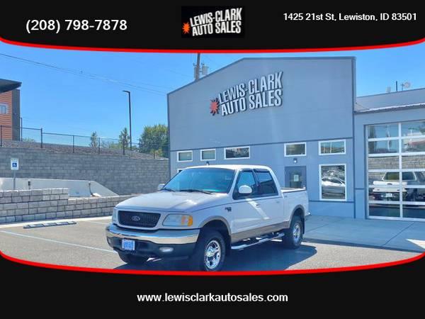 Photo 2003 Ford F150 SuperCrew Cab - LEWIS CLARK AUTO SALES - $14,790