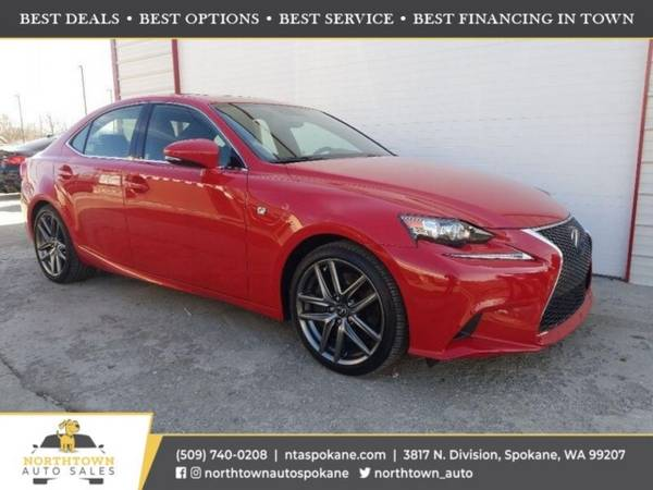 Photo 2016 Lexus IS 300 F Sport ($500 down youre approved)