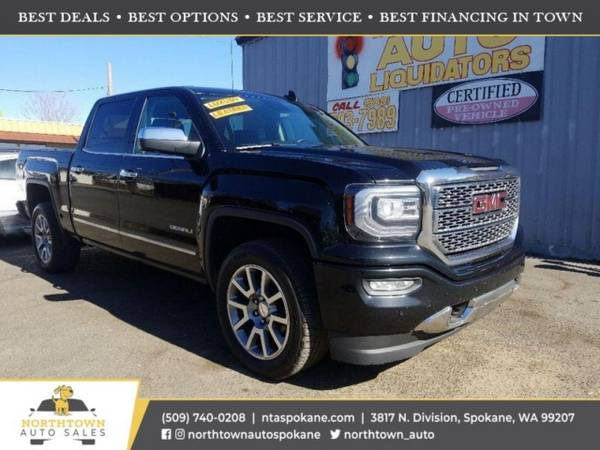 Photo 2017 GMC Sierra 1500 Denali - $33,980 ($500 down youre approved)