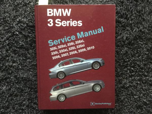 Photo BMW 3 Series Bentley Service Manual - $50 (Kennewick)
