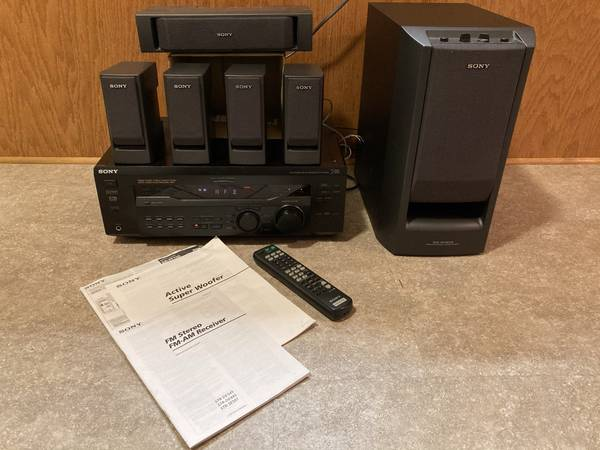 Photo SONY 5.1 Dolby Digital Audio Theater System - $50 (Lewiston)