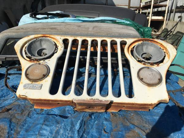 Photo STEEL GRILLE FOR A 1972-1986 CJ-5-7-8 - $200 (CLARKSTON)