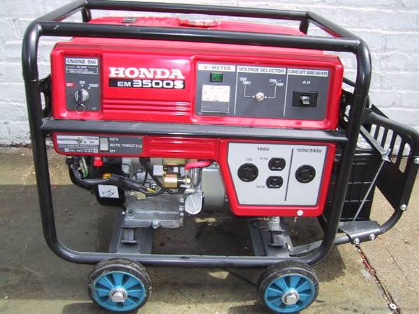 Photo STOLEN Honda 3500 Generator - $1 (Cavendish Kendrick)