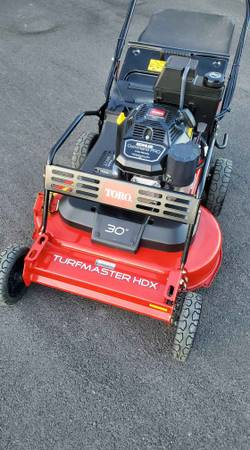 Photo Toro TurfMaster 30quot Commercial Mower - $2,100