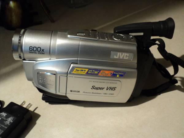 Photo jvc compact vhs camcorder - $20 (Pinehurst idaho)