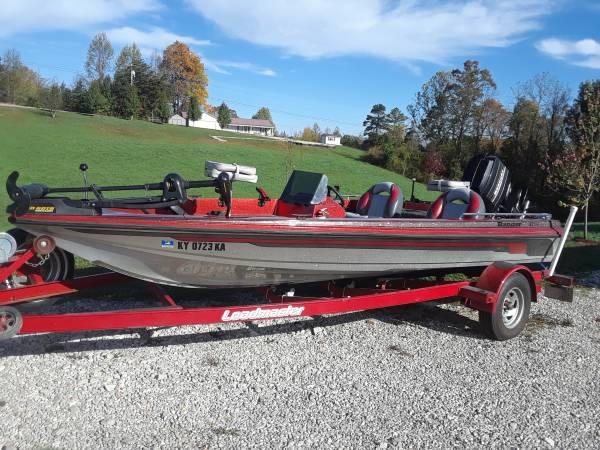 Photo 17ft ranger bass boat - $3,800 (IRVINE)