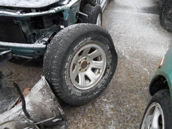NEW Chrome Steel Front Bumper Face Bar for 1998 1999 2000 Ford Ranger Truck
