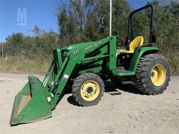 Photo 2005 4x4 John Deere 4410 35Hp Tractor with Front Bucket Loader, Nice - $13750 (Louisville, Kentucky  J39town)