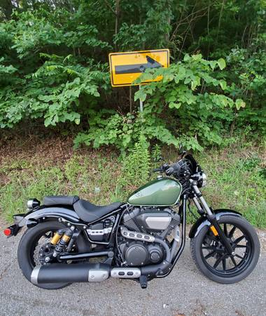 Photo 2014 Yamaha Bolt R-Spec Green VERY CLEAN - $4,350 (South Shore, KY)