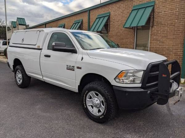Photo 2015 Ram 2500 4X4 Work Truck Utility Cap Winch Slide Out Bed Tray - $16990 (www.FirstChoiceAutos.com)