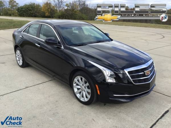 Photo 2018 Cadillac ATS Sedan 2.0L Turbo - $24,499 (_Cadillac_ _ATS Sedan_ _Sedan_)