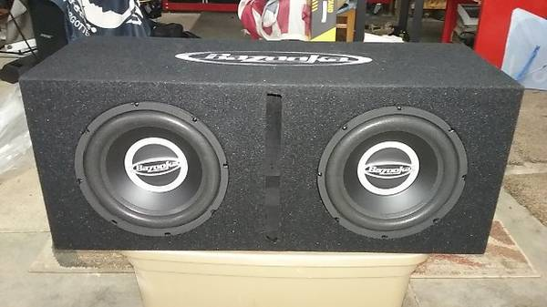 Photo (2) Bazooka 10 subs in ported box - $112 (Nicholasville)