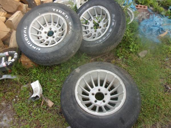 Photo 3 general lee wheels 15 inch AMERICAN RACING VECTOR dodge charger - $200 (london ky)