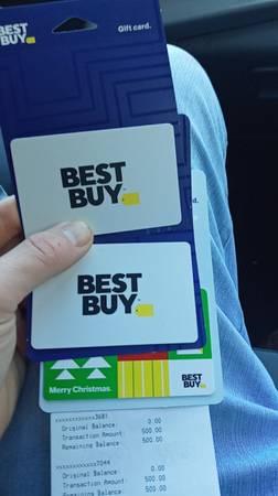 Photo Best Buy gift c a r d - $450 (Lexington)