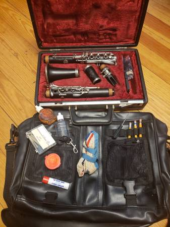 Photo Buffet Cron R13 Clarinet--Cork Pads - $1,599