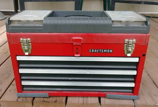 Photo Craftsman 3 Drawer Toolbox - $60 (Winchester)