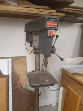 Photo Craftsman Drill Press floor model - $200 (Georgetown)