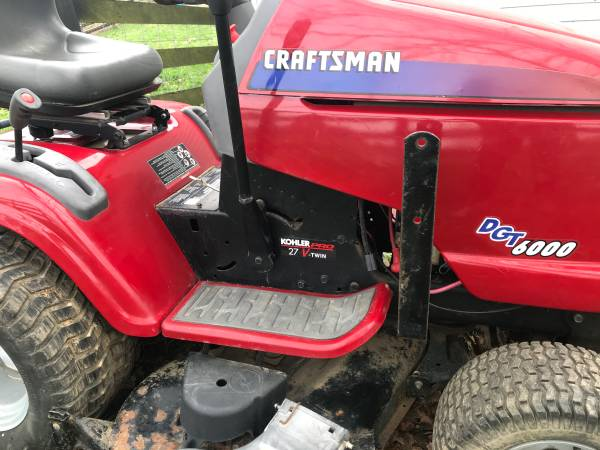 Photo Craftsman Mower, Blade, Grass Catcher Read Ad - $460 (Sadieville)