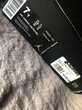 Photo Jordan 4 pure money size 7y - $250 (Frankfort)